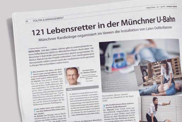 121 Lebensretter in der Münchner U-Bahn